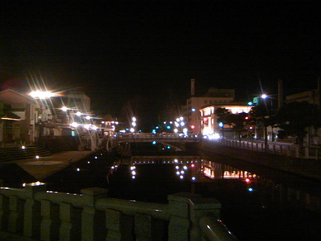 松江の夜景